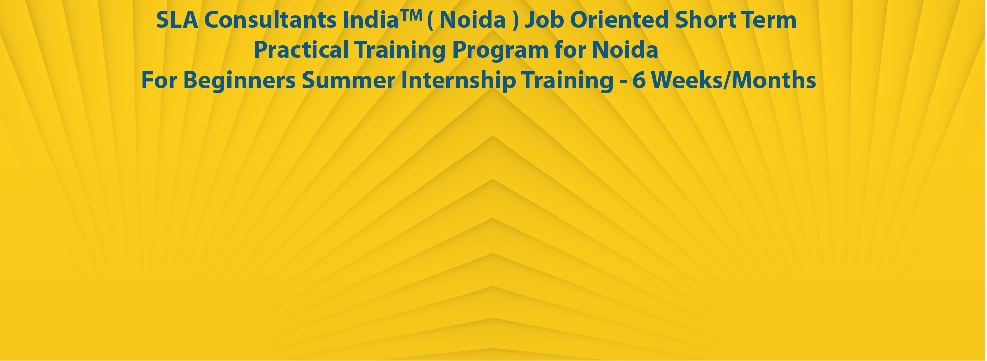 Internship Training courses in noida